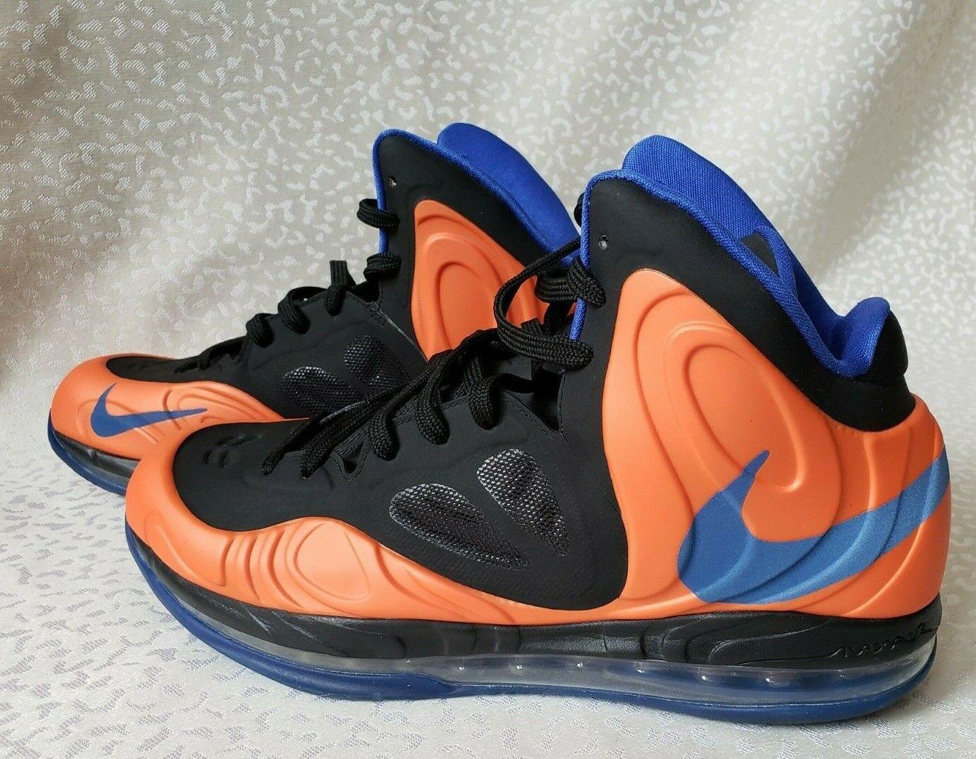 Nike Air Max HyperpositePE Amare Soudemire NY Knicks Mens 11.5 orange Black bluee