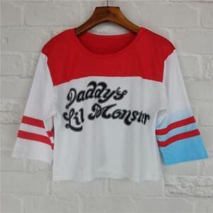 Harley quinn cosplay shirt