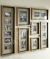 Extra Large Horchow Massena Multi Photo Frame Collection Wall Multiple Collage