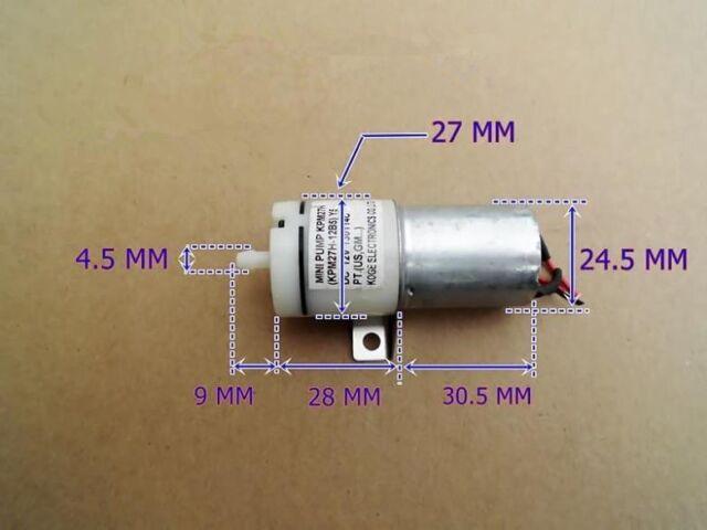 DC 5V~12V 6v 9v Small Mini Motor Gas Air Pump Aquarium Fish Water Tank DIY