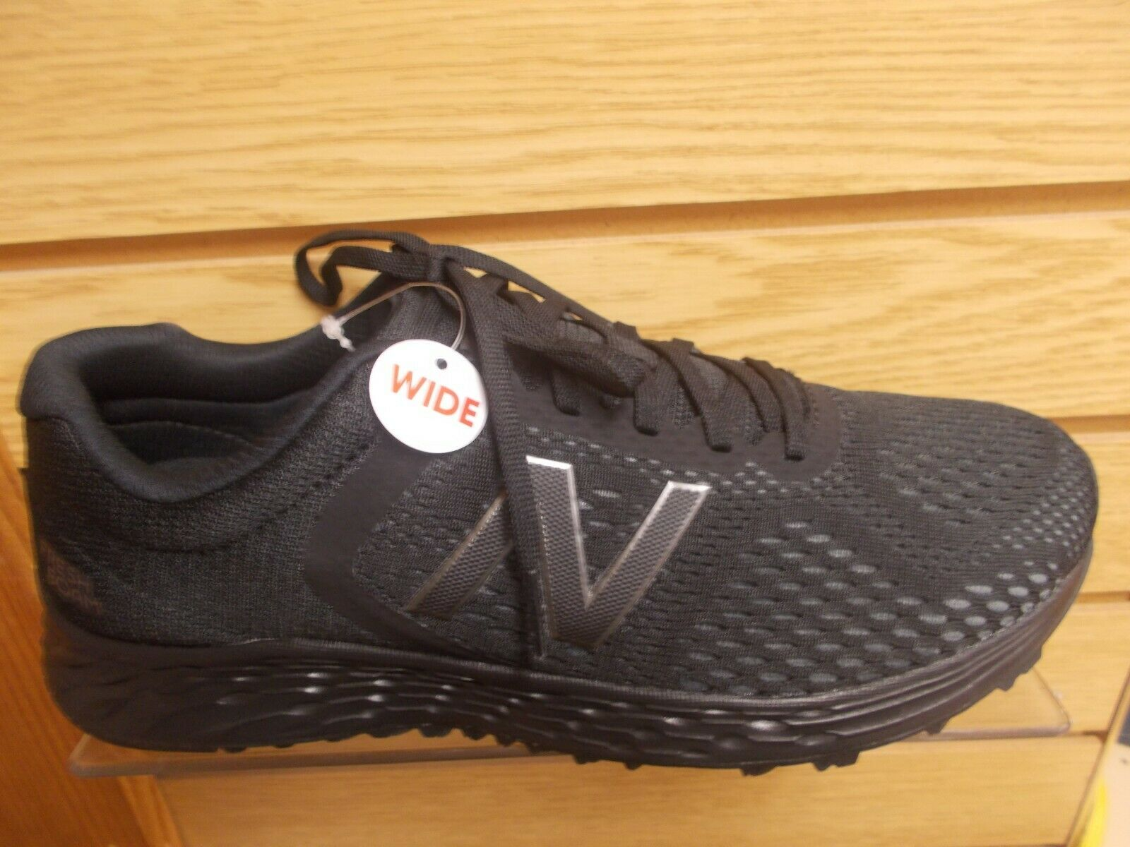 NEW para hombre ARISHI V2 X BALANCE-ancho ancho 4E Negro Nuevos Zapatos Correr, caminar