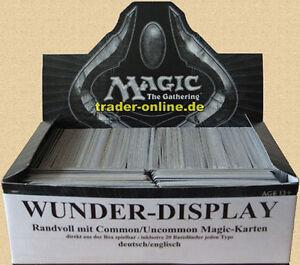 WUNDER-DISPLAY-voll-mit-original-Magic-Karten-Sammlung-deutsch-englisch-Lot