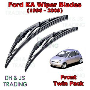 Image Is Loading Ford Ka Front Windscreen Wiper Blades Wipers Set