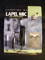 Ambico Camcorder Lapel Mic With All Accessories In Package Free Shipping