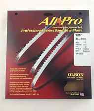 """Olson All-Pro Band Saw Blade 125"""" x 1/2"""" 3TPI for Laguna LT14 SUV & others, USA"""