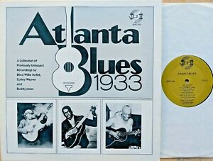 PREWAR-BLUES-LP-ATLANTA-BLUES-1933-unissued-McTell-Curley-Weaver-Buddy-Moss