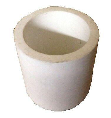 "PTFE Teflon Straight Tube 3/16"" ID x 5/16"" OD x 1/16"" Wall x 3 Foot Length"