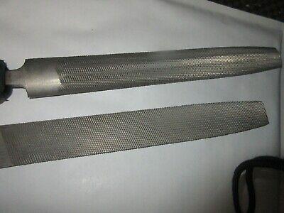 Halbrund  Hieb 1 DIN 7263 F Raspel// Kabinettfeile  200 mm