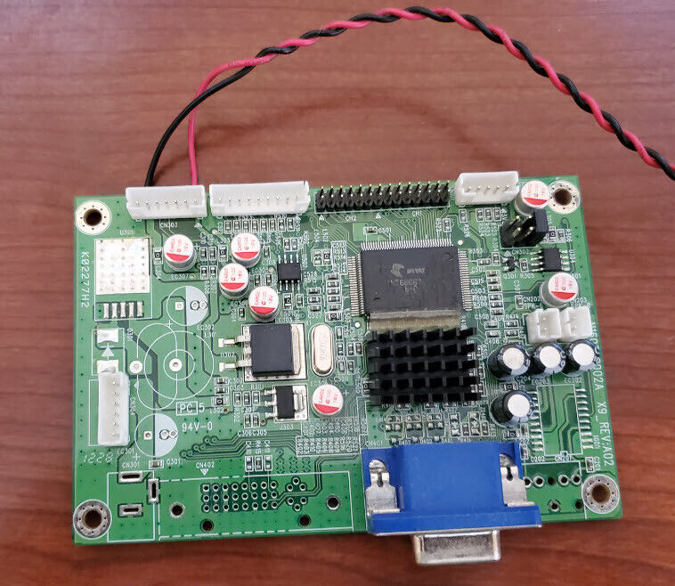 Video Card K02277H2 - 2120199_X9_LC200WXN VGA for Casino Displays