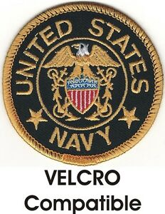 445c5b8e684 Seal of The United States Navy Patch Velcro® BRAND Hook Fastener Compatible