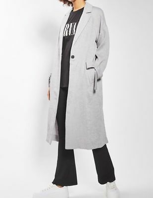 TALL Grey Slouch Coat