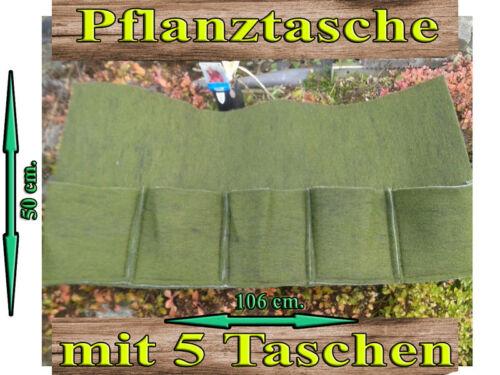 3 x Pflanztaschen Set Mini Pflanztaschen 5er und 6er Teichrand Teich Pflanzhilfe