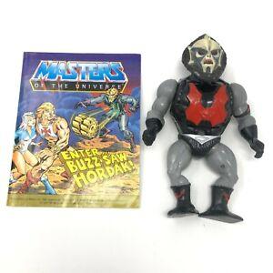 MOTU Buzz Saw Hordak w/ Comic 1985 He-Man Mattel Masters of the Universe Vintage