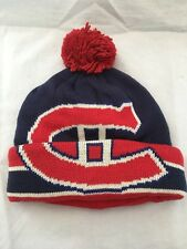 172778d2d Montreal Canadiens NHL Knit Beanie Hat Cuffless by Old Time Hockey ...