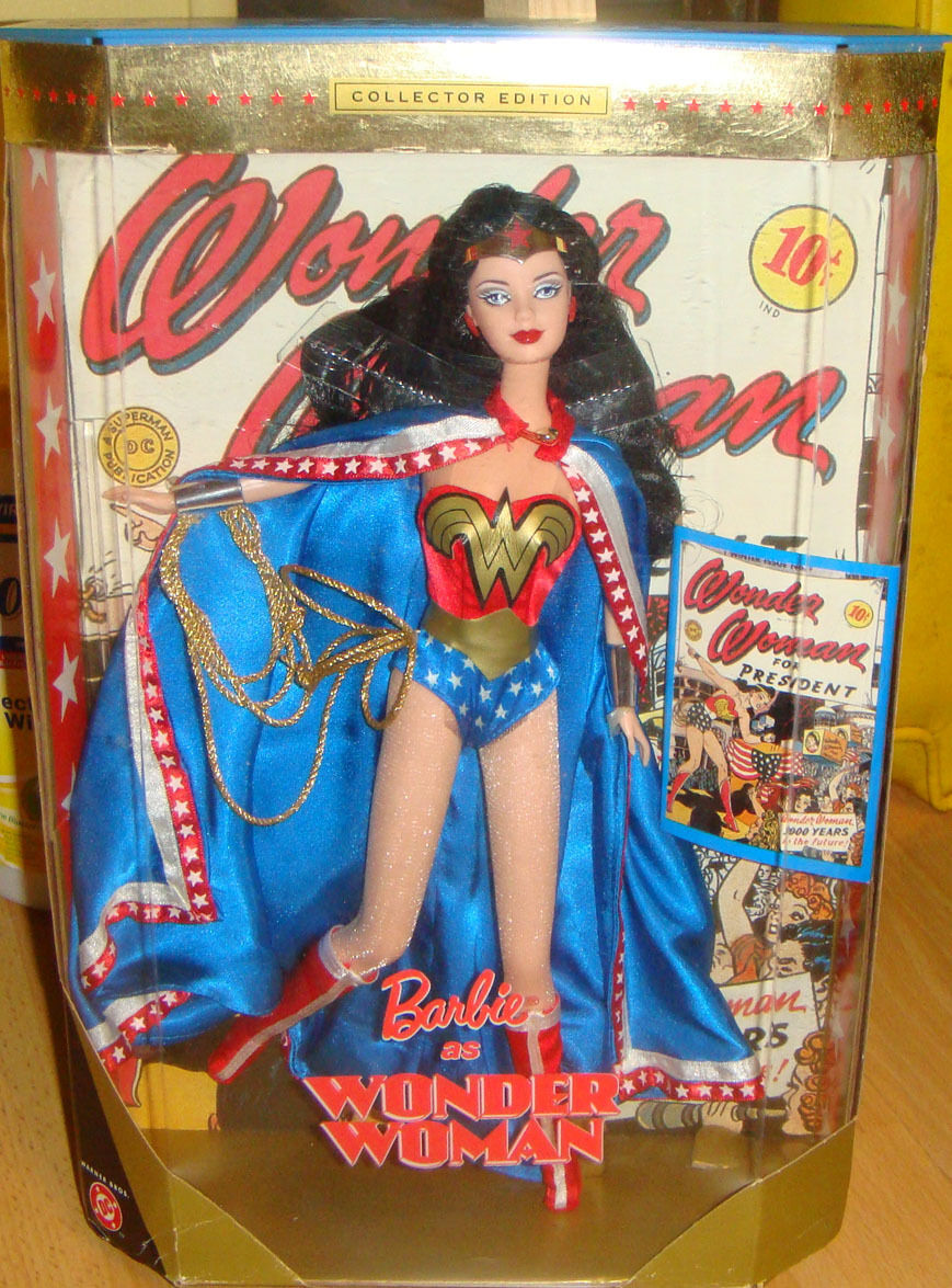 Barbie Doll As Wonder Woman Collector Edition 2000 NRFB xb800