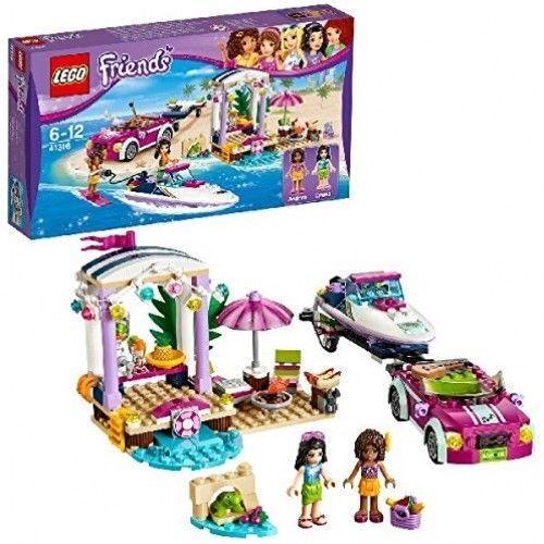 LEGO ANDREA'S MOTOSCAFO TRANSPORTER giocattolo di costruzione