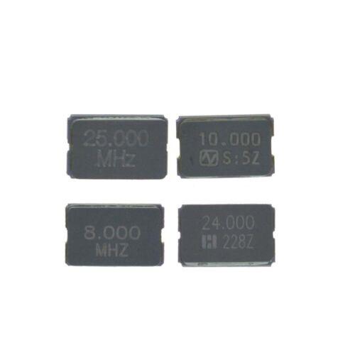 5032 2Pin SMD Cerámica Resonador pasivo Oscilador de Cristal 8Mhz a 25Mhz