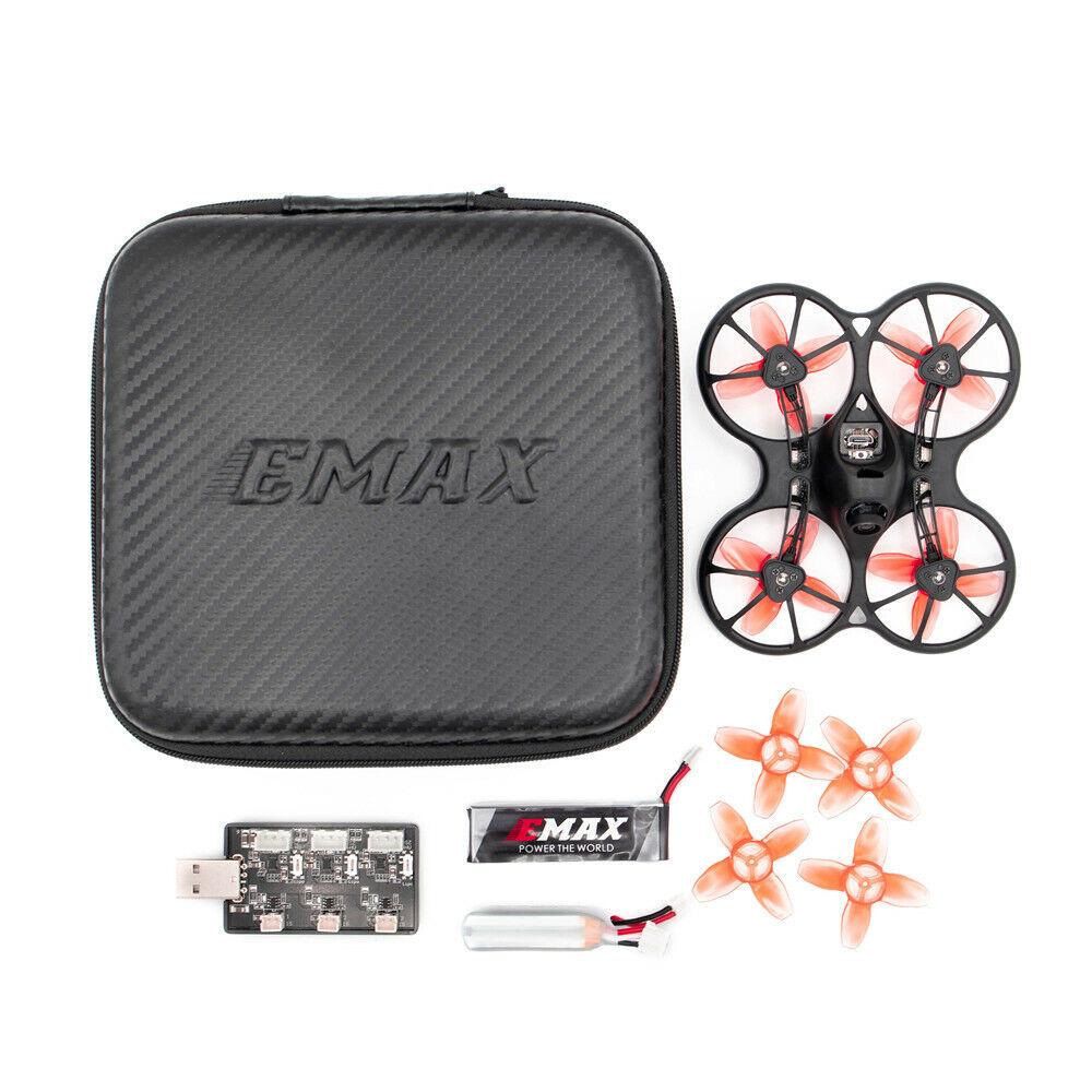 Emax Tinyhawks 75Mm F4 Osd 1-2S Micro Interior FPV RACING Drone BNF con 600Tvl CMOS