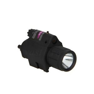 LED-Flashlight-Torch-Red-Dot-Sight-Scope-Rifle-Tactical-Light-Lamp-amp-Laser-Combo