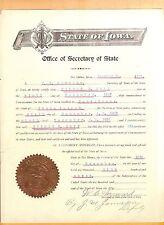 W. C. Hayward-signed letter-17