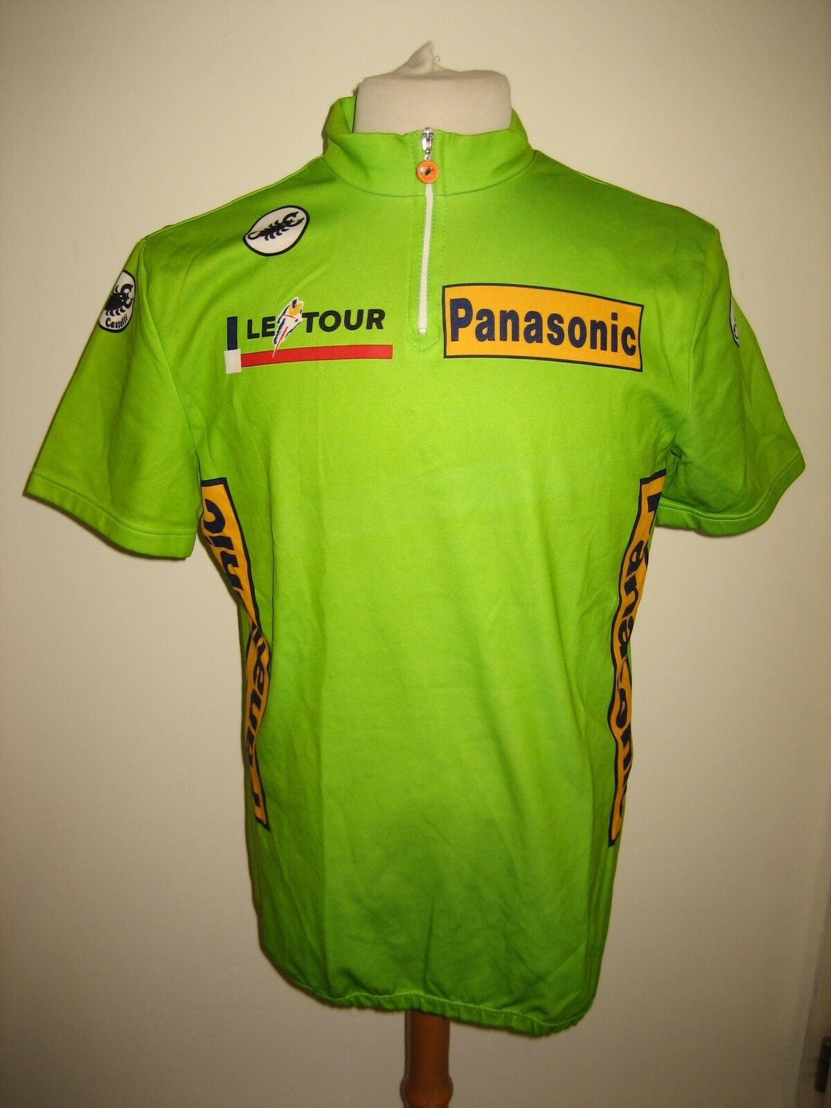 Tour  de France Olaf LUDWIG green jersey Panasonic shirt cycling maillot sz XL  online-shop