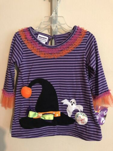 blueberi boulevard Toddler Girl's 2-Piece Halloween Top /& Pants FREE Shpg NWTA
