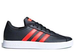 Adidas-VL-COURT-2-0-K-B75696-Grigio-Scarpe-Donna-Sneakers-Sportive