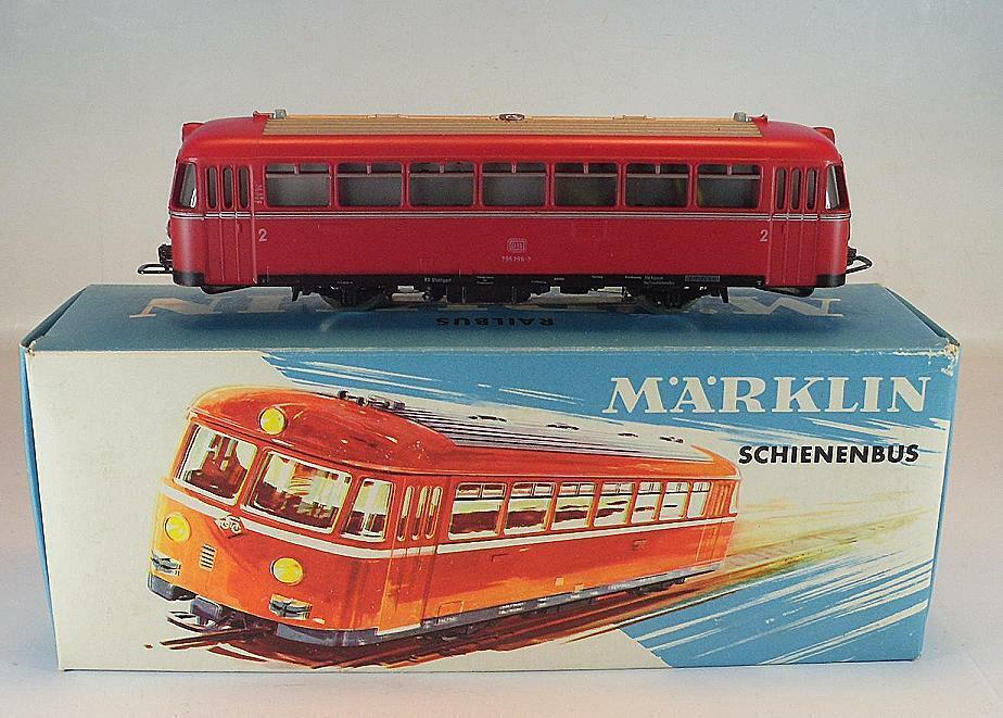 Märklin H0 no 3016 railbus BR 795 299-7 the DB 2  AC OVP