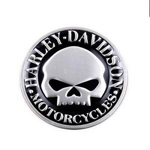 Image Is Loading Harley Davidson Skull Motorcycle Body Emblem Badge Decals