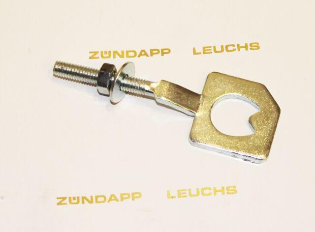 Zündapp Kettenspanner Gezackt Links 433-15.632 KS 50 Sport Typ 517