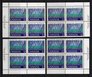Canada Stamps — 1977, Chrismtas: Angelic Choir #742 MNH