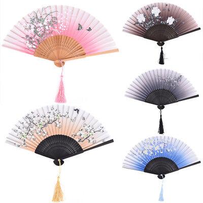 Hand Fan Fuji Kanagawa Waves Japanese Folding Fan Pocket Fan Party DecorationFT