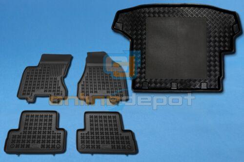 Gummi-Fußmatten+Kofferraumwanne NISSAN X-TRAIL II T31 2007-2014