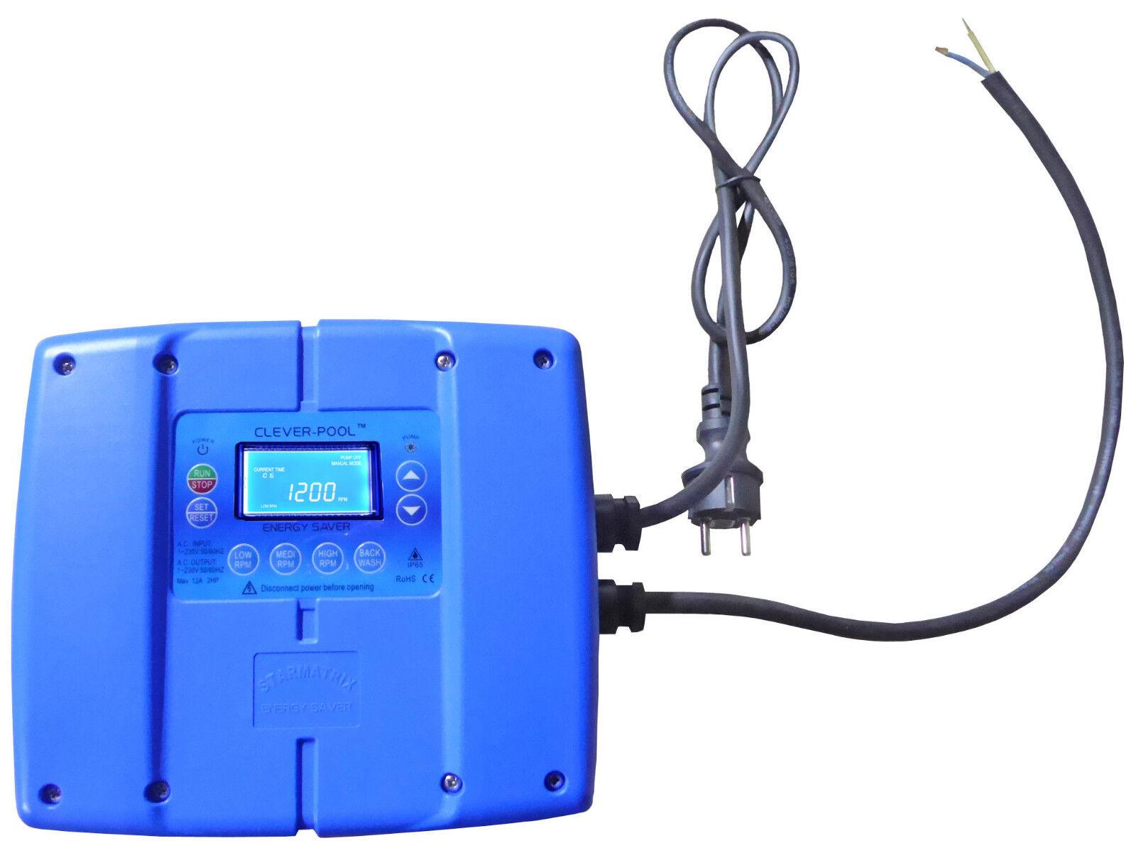 Clever Pool Energy Saver 230V Frequenzumformer zur Stromeinsparung bei Pumpen