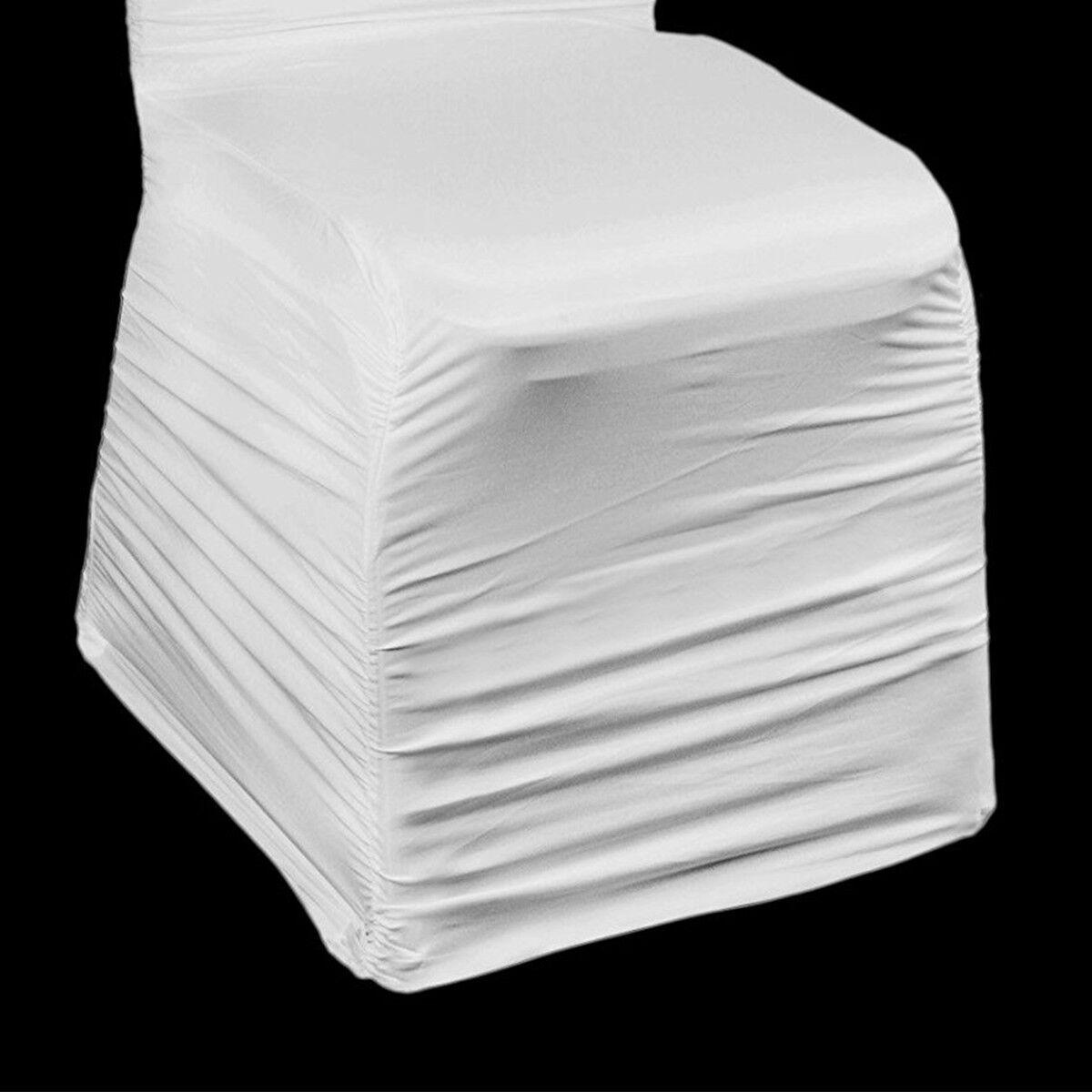 Stuhl Bezüge Spandex Lycra Stuhlbezug Stuhlbezug Stuhlbezug weiß zerzaust Jahrestag Party Hochzeit | Um Eine Hohe Bewunderung Gewinnen Und Ist Weit Verbreitet Trusted In-und   |  2a9411