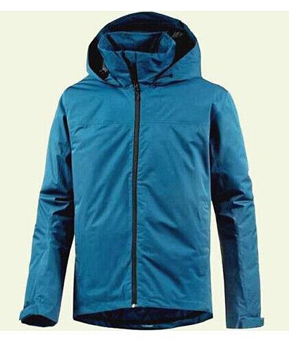 Outdoor Jacke adidas® Wandertag J Sol, winddicht, wasserfest, blau, Größe M 50