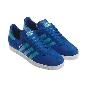 FW15 ADIDAS SCARPE GAZELLE ESTIVE IN CANVAS TELA GRIGIE Q23104 SCARPA SHOES
