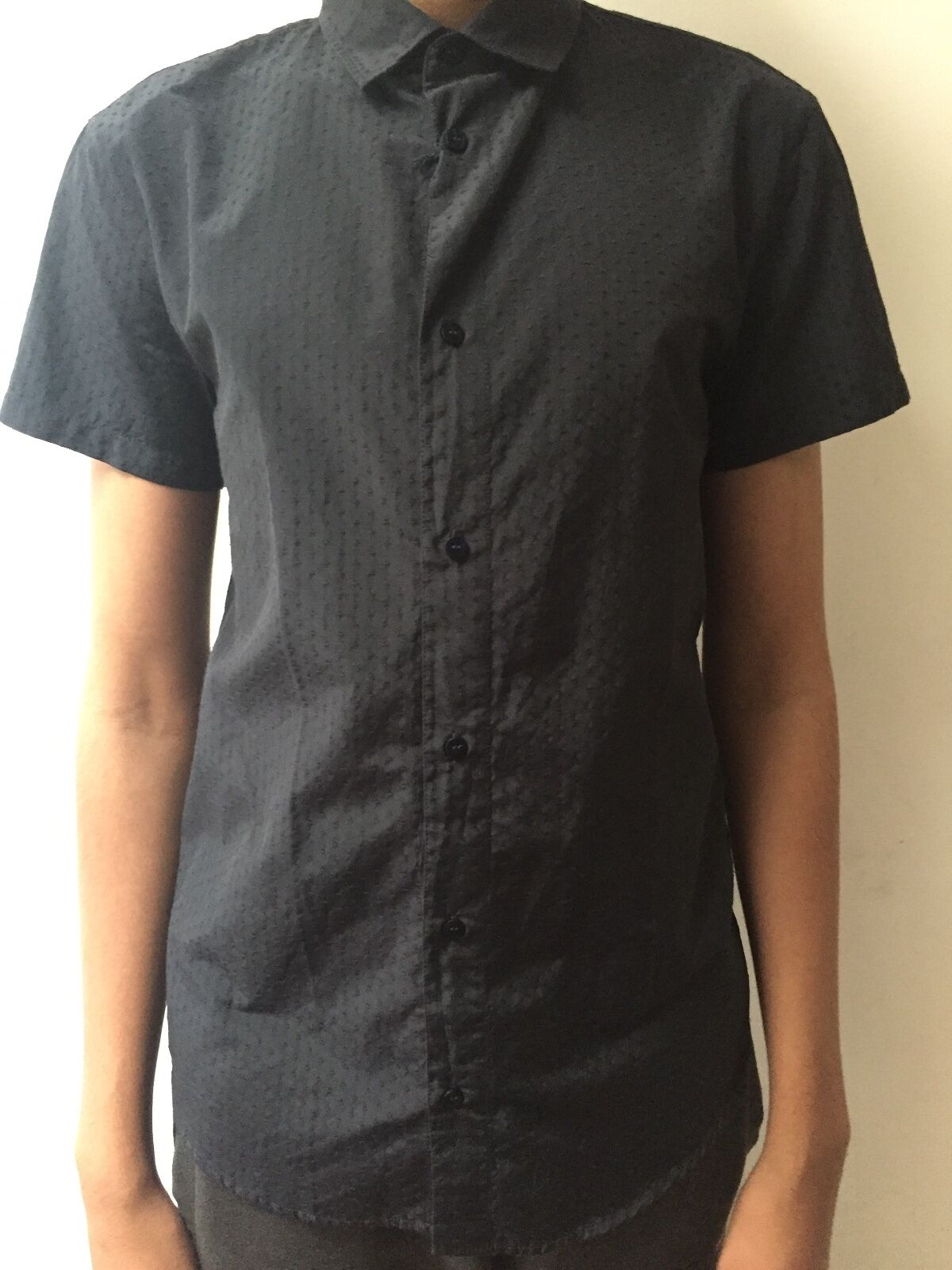 Brand new with tags large navy dot armani jeans shirt