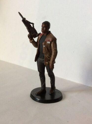 FINN figure statua PVC 10 cm STAR WARS IL RISVEGLIO DELLA FORZA  DISNEY