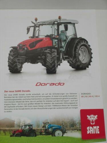 90 2669 100.4 Traktoren Prospekt von 05//2019 90.4 SAME DORADO 80