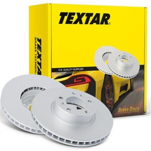 Textar Disques de frein 284mm avant Opel Corsa D