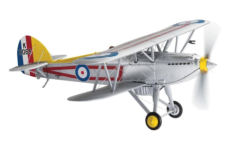 Corgi AA27304, Hawker Fury Mk. I, K2065, No.1 Escuadrón RAF, los líderes de vuelo  C  un
