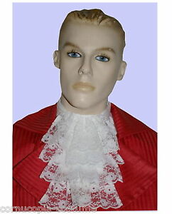 MENS-LACE-JABOT-CRAVAT-17TH-18TH-C-VICTORIAN-EDWARDIAN-REGENCY-COSTUME