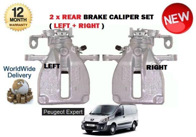 BRAKE CALIPERS FOR PEUGEOT EXPERT 2007-16 REAR LEFT /& RIGHT