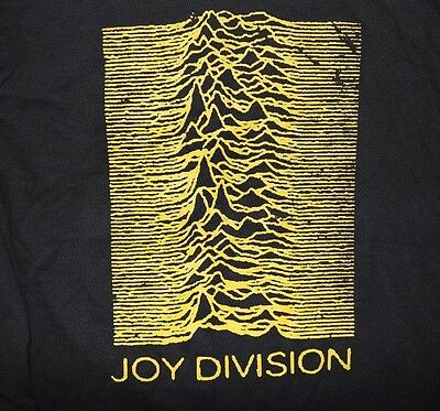 JOY DIVISION T-Shirt Pulsar CP 1919 Unknown Pleasures New S-2XL BLACK TEE