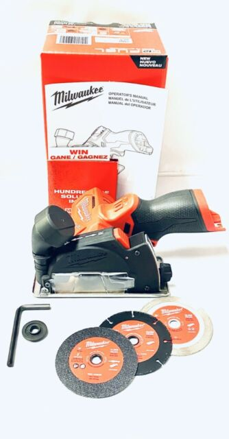 """Milwaukee 2522-20 M12 Fuel 3"""" Cut Off Tool Grinder - Bare Tool Only BRAND NEW"""