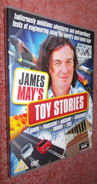 BBC James May's Toy Stories [2009] DVD, James May, Sim Oakley
