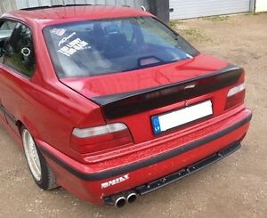 bmw e36 coupe rear spoiler m3 csl style ducktail. Black Bedroom Furniture Sets. Home Design Ideas