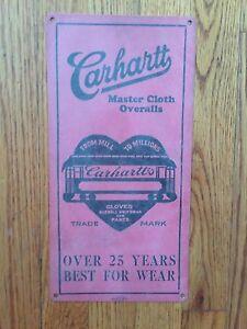Carhartt Overalls Jeans Denim Workwear Vintage USA ...