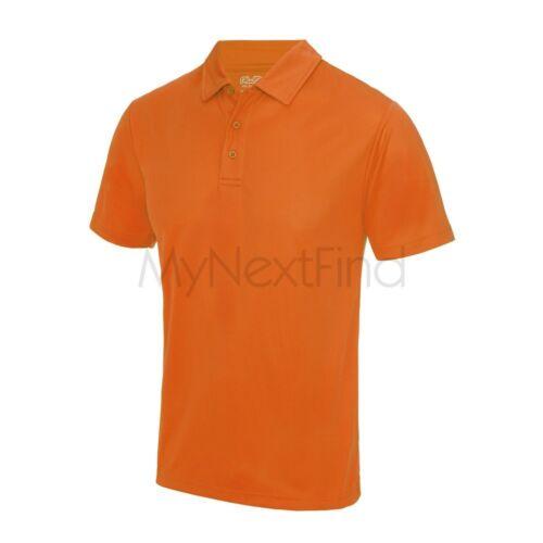 AWDis Just Cool Mens Womens Sports Gym Cool Polo Shirt